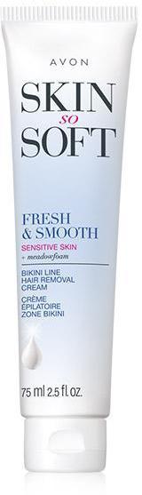 Skin So Soft Fresh & Smooth Sensitive Skin Bikini Hair Removal Cream
