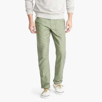 Wallace & Barnes olive camp pant