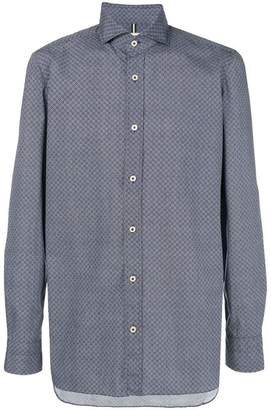 Luigi Borrelli printed button-down shirt