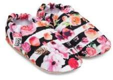 Baby on the Go Baby's Flower Moccasins
