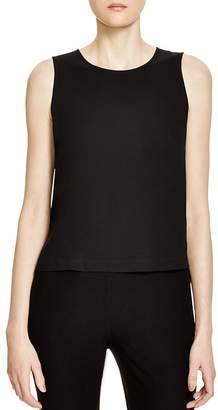 Eileen Fisher Silk Crop Top, Regular & Petite