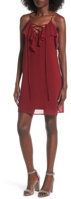 Women's Soprano Lace-Up Camisole Dress $45 thestylecure.com