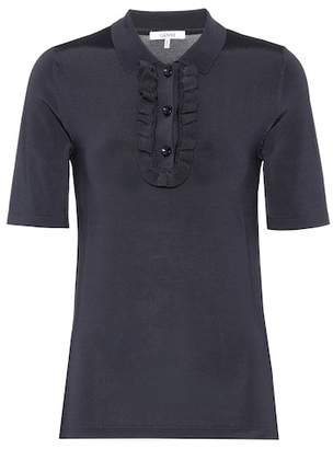 Ganni Romilly polo shirt