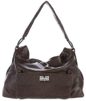 Chanel 8 Knots Leather Hobo