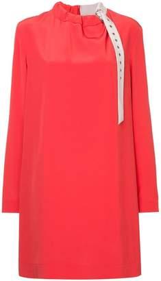 Tibi coluor block shift dress