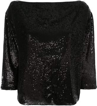 A.L.C. sequin embellished blouse