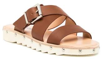 Charles David Speedy Buckle Leather Sandal