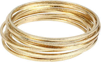 WORTHINGTON Worthington Gold-Tone Bangle Bracelet Set