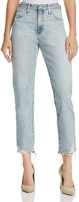 AG Jeans Phoebe Vintage High Waist Tapered Jeans in Bering Wave