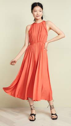 Jason Wu Grey Twill Apron Dress