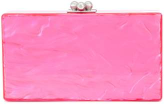 Edie Parker rectangular box clutch