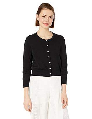 Karl Lagerfeld Paris Women's CARDIGAN WITH LACE BACK