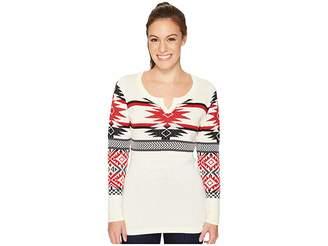 Woolrich Avalanche Split Neck Sweater Women's Sweater