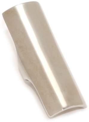 Giuseppe Zanotti Sterling Finish Tubular Ring