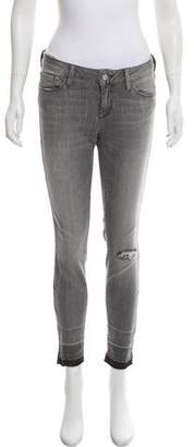 Mavi Jeans Mid-Rise Skinny Jeans