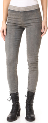 Rick Owens DRKSHDW Simple Leggings $470 thestylecure.com
