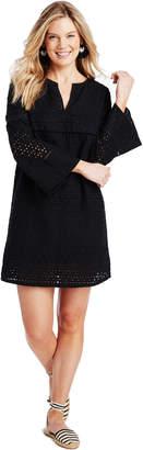 Vineyard Vines Black Eyelet Beach Dress