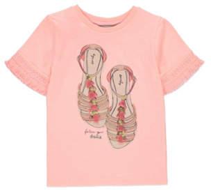 Bell George Embellished Shoes T-Shirt