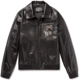 Prada Leather Blouson Jacket