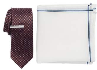 The Tie Bar Flower Network 3-Piece Skinny Tie Style Box