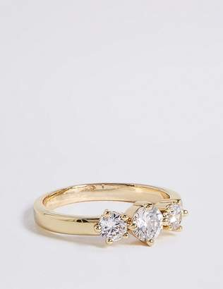 Marks and Spencer Gold Plated Sparkle Ring