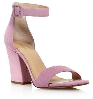 Botkier Women's Shana Suede Block Heel Sandals - 100% Exclusive