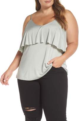 Tart North Sleeveless Ruffle Top