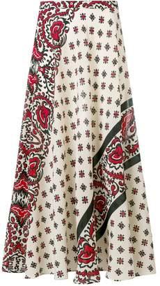 RED Valentino paisley-print skirt