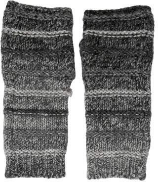 Dolce & Gabbana Wool-Blend Rib Knit Mittens