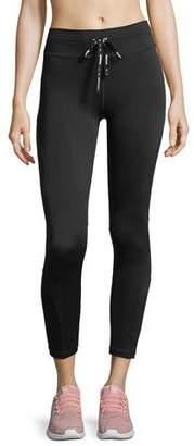 The Upside Drawstring Compression Midi Pants