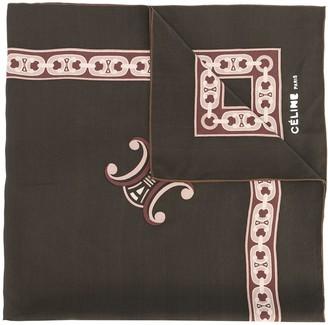 Celine Pre-Owned printed foulard