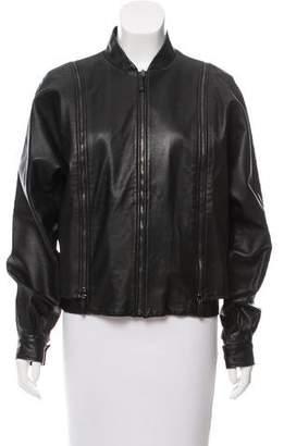 Maison Margiela 2015 Convertible Leather Jacket