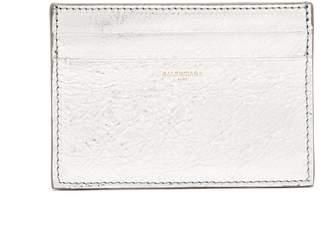 Balenciaga Bazar leather cardholder