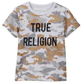 True Religion Metallic Camo Tee (Toddler & Little Boys)