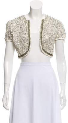 Generra Silk Embellished Shrug