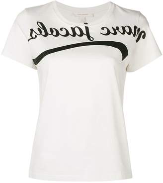 Marc Jacobs reverse logo T-shirt