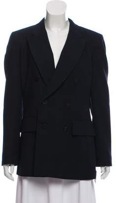 DKNY Wool Double-Breasted Jacket