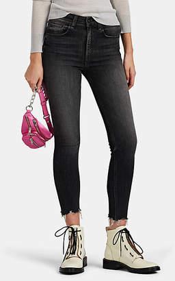 Rag & Bone Women's High-Rise Ankle Skinny Jeans - Gray