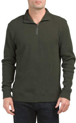 Chad Thermal Quarter Zip Sweater