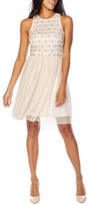Mae LACE & BEADS Skater Party Dress