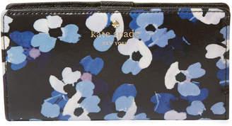 Kate Spade Cedar Street Floral Stacy Long Wallet
