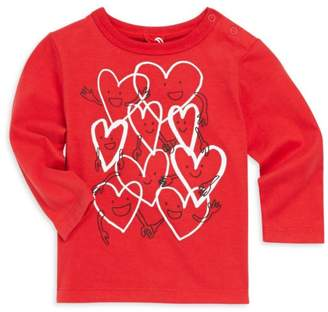 Stella McCartney Baby Girl's Geo Heart Tee