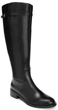 d170e5b5a79 Franco Sarto Black Knee High Women s Boots - ShopStyle