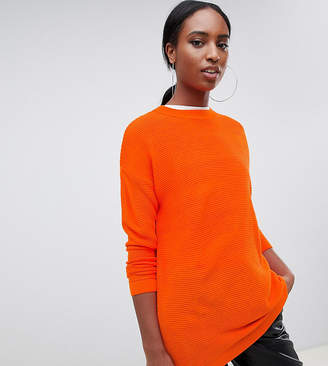 Asos Tall TALL Oversized Sweater in Ripple Stitch