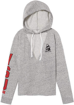 PINK Youngstown State University Choker Neck Pullover Hoodie
