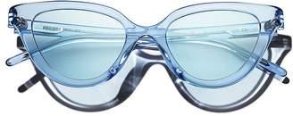 Cat Eye PROJEKT PRODUKT PROJECT PRODUCKT Women's Sunglasses, 49mm