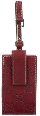 Gucci Guccissima Leather iPod Case