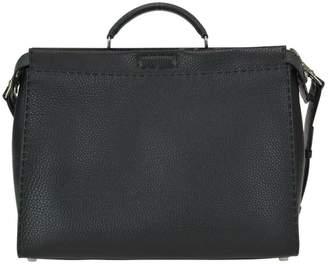 Fendi Roma Logo Peekaboo Regular Bag