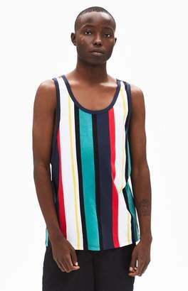 PS Basics Tramar Stripe Regular Fit Tank Top
