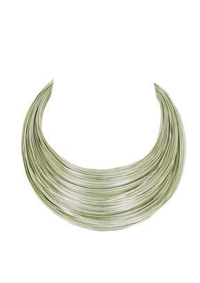 Jean Paul Gaultier Vintage Silver Metal Necklace